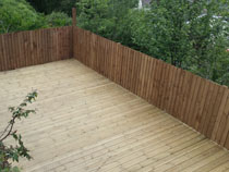 Garden Decking South Wales